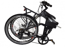 NEW 2016 Baja 36 Volt Lithium Powered Electric Folding Mountain Bicycle