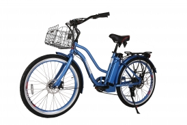 Malibu Elite Step-Through Beach Cruiser Electric Bicycle - NEW COLORS!!!!