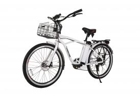 Newport Elite Electric Beach Cruiser Bicycle - NEW COLORS!!